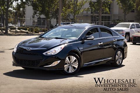 2013 Hyundai Sonata Hybrid for sale in Van Nuys, CA