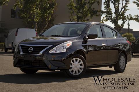 2017 Nissan Versa for sale in Van Nuys, CA