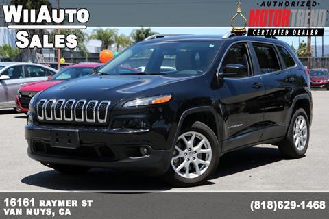 2016 Jeep Cherokee for sale in Van Nuys, CA