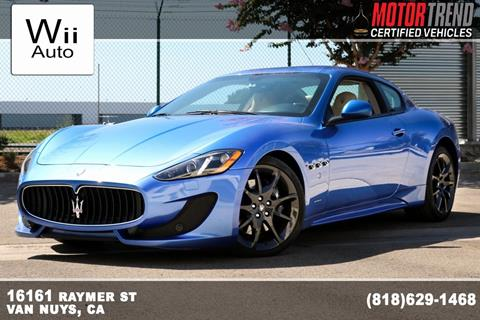 Used Maserati Granturismo >> 2015 Maserati Granturismo For Sale In Van Nuys Ca