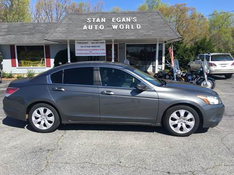 2009 Honda Accord for sale at STAN EGAN'S AUTO WORLD, INC. in Greer SC