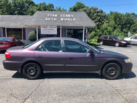 1999 Honda Accord for sale at STAN EGAN'S AUTO WORLD, INC. in Greer SC