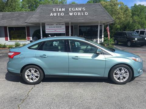 2012 Ford Focus for sale at STAN EGAN'S AUTO WORLD, INC. in Greer SC