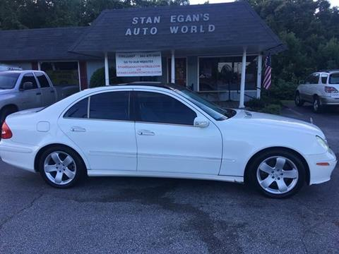 2005 Mercedes-Benz E-Class for sale at STAN EGAN'S AUTO WORLD, INC. in Greer SC