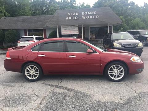 2008 Chevrolet Impala for sale at STAN EGAN'S AUTO WORLD, INC. in Greer SC