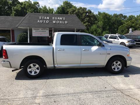 2009 Dodge Ram Pickup 1500 for sale at STAN EGAN'S AUTO WORLD, INC. in Greer SC