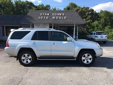 2003 Toyota 4Runner for sale at STAN EGAN'S AUTO WORLD, INC. in Greer SC