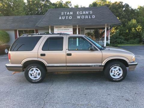 1996 Chevrolet Blazer for sale at STAN EGAN'S AUTO WORLD, INC. in Greer SC