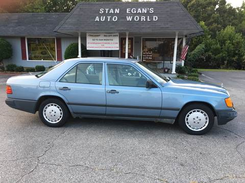 1989 Mercedes-Benz 260-Class for sale at STAN EGAN'S AUTO WORLD, INC. in Greer SC