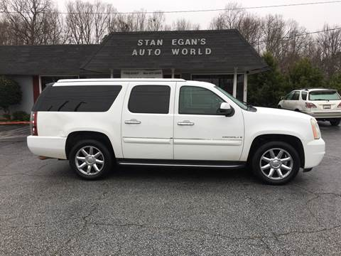 2007 GMC Yukon XL for sale at STAN EGAN'S AUTO WORLD, INC. in Greer SC