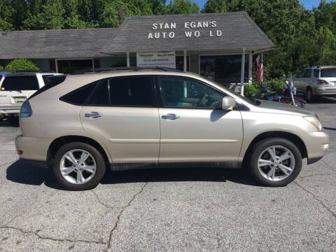 2008 Lexus RX 350 for sale at STAN EGAN'S AUTO WORLD, INC. in Greer SC