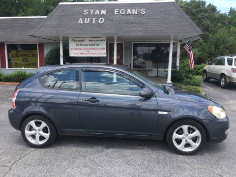 2008 Hyundai Accent for sale at STAN EGAN'S AUTO WORLD, INC. in Greer SC