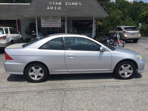 2004 Honda Civic for sale at STAN EGAN'S AUTO WORLD, INC. in Greer SC