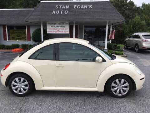 2007 Volkswagen New Beetle for sale at STAN EGAN'S AUTO WORLD, INC. in Greer SC