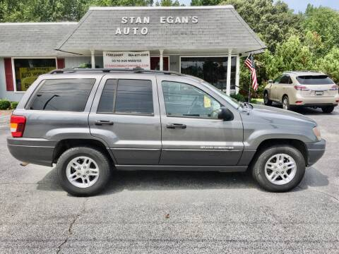 2003 Jeep Grand Cherokee for sale at STAN EGAN'S AUTO WORLD, INC. in Greer SC