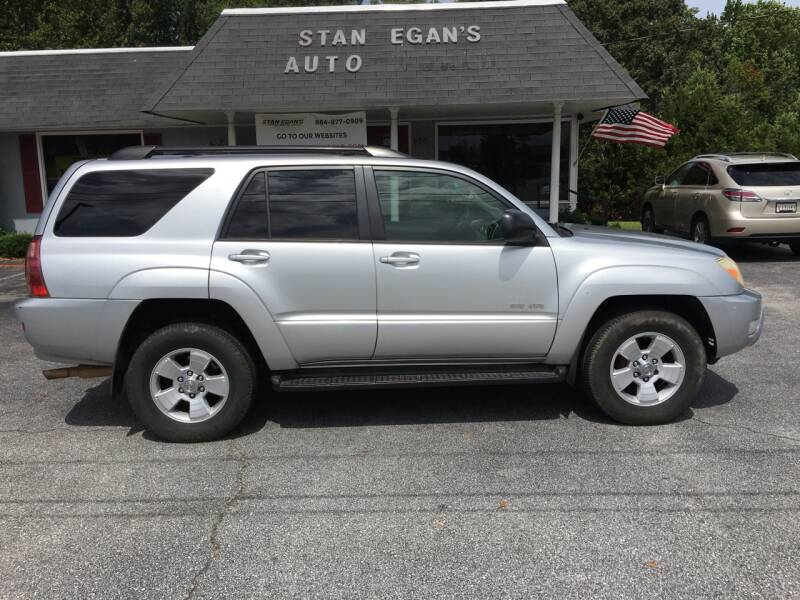 2004 Toyota 4Runner for sale at STAN EGAN'S AUTO WORLD, INC. in Greer SC
