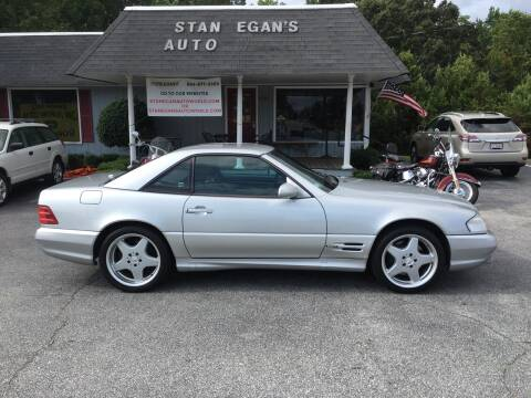 2001 Mercedes-Benz SL-Class for sale at STAN EGAN'S AUTO WORLD, INC. in Greer SC