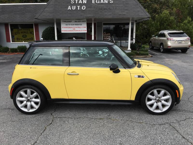 2003 MINI Cooper for sale at STAN EGAN'S AUTO WORLD, INC. in Greer SC