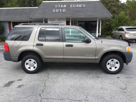 2004 Ford Explorer for sale at STAN EGAN'S AUTO WORLD, INC. in Greer SC