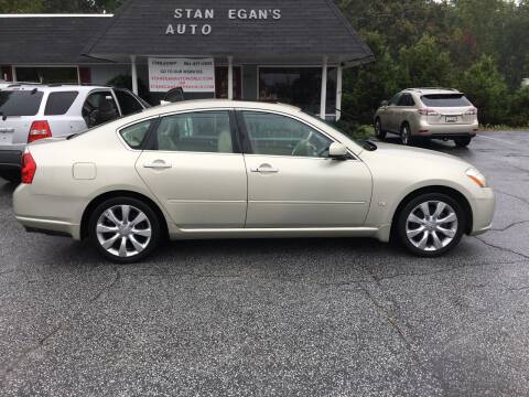 2006 Infiniti M35 for sale at STAN EGAN'S AUTO WORLD, INC. in Greer SC