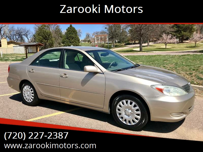 2002 Toyota Camry For Sale At Zarooki Motors In Englewood CO