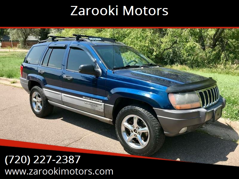 2000 Jeep Grand Cherokee For Sale At Zarooki Motors In Englewood CO