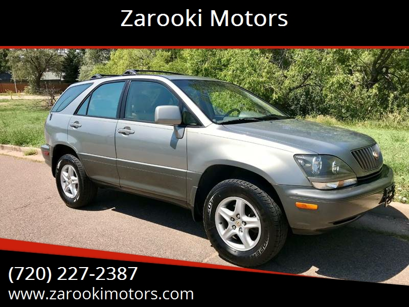 2000 Lexus RX 300 For Sale At Zarooki Motors In Englewood CO