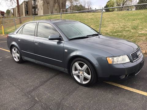 2003 Audi A4 for sale at Zarooki Motors in Englewood CO