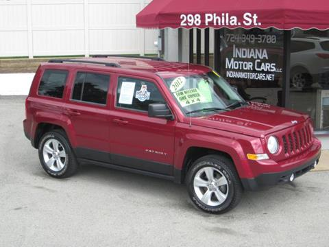 2012 Jeep Patriot for sale in Indiana, PA