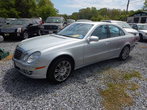 2007 Mercedes-Benz E-Class for sale in Tabernacle NJ
