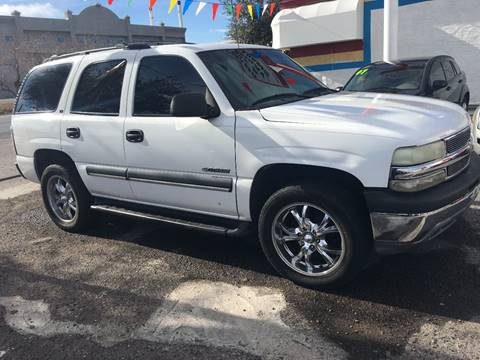 2002 Chevrolet Tahoe for sale in Henderson, NV