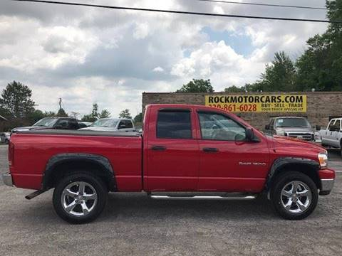 2006 Dodge Ram Pickup 1500 for sale at ROCK MOTORCARS LLC in Boston Heights OH