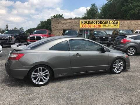 2006 Honda Civic for sale at ROCK MOTORCARS LLC in Boston Heights OH