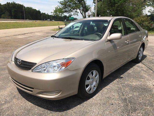 2004 Toyota Camry for sale at ROCK MOTORCARS LLC in Boston Heights OH