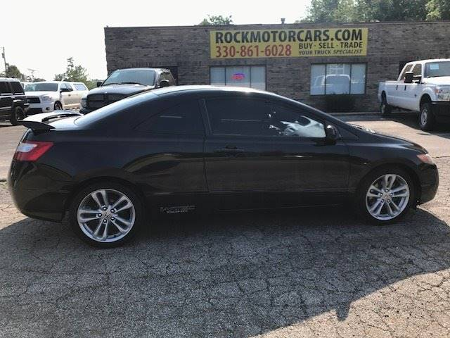 2007 Honda Civic for sale at ROCK MOTORCARS LLC in Boston Heights OH