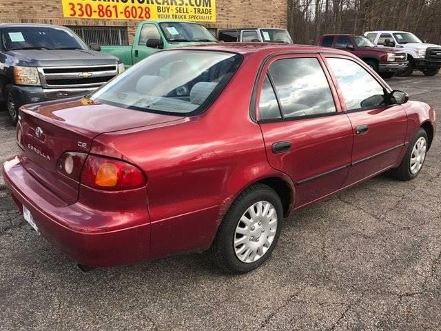 2001 Toyota Corolla for sale at ROCK MOTORCARS LLC in Boston Heights OH