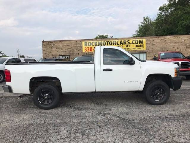 2008 Chevrolet Silverado 1500 for sale at ROCK MOTORCARS LLC in Boston Heights OH