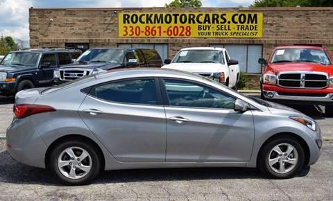 2014 Hyundai Elantra for sale at ROCK MOTORCARS LLC in Boston Heights OH