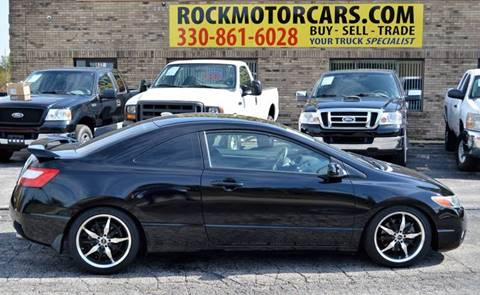 2008 Honda Civic for sale at ROCK MOTORCARS LLC in Boston Heights OH