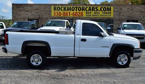 2004 Chevrolet Silverado 2500HD for sale at ROCK MOTORCARS LLC in Boston Heights OH