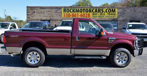 2008 Ford F-250 Super Duty for sale at ROCK MOTORCARS LLC in Boston Heights OH