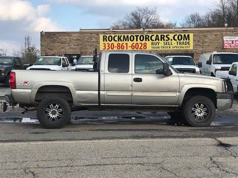 2003 Chevrolet Silverado 2500hd For Sale In Boston Heights Oh