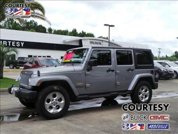 2015 Jeep Wrangler Unlimited for sale in Abbeville, LA