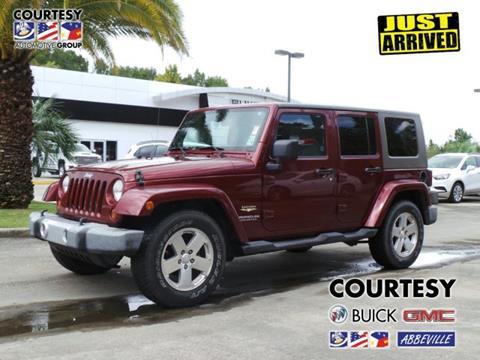 2008 Jeep Wrangler Unlimited for sale in Abbeville, LA