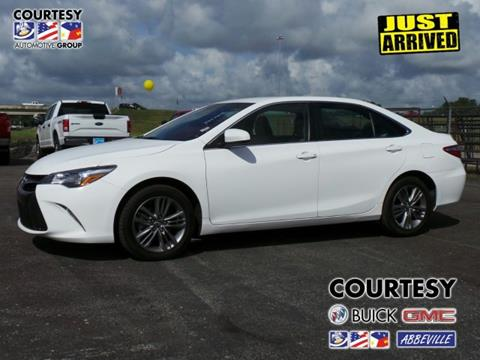 2016 Toyota Camry for sale in Abbeville, LA