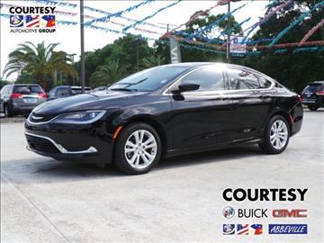 2015 Chrysler 200 for sale in Abbeville, LA