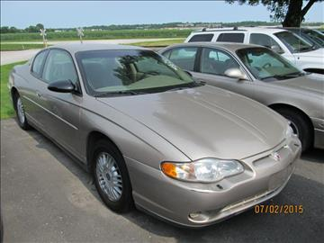 2001 Chevrolet Monte Carlo for sale in Iowa City, IA