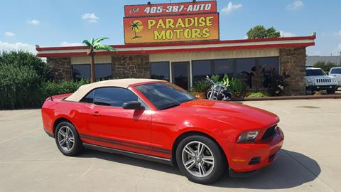 2011 Ford Mustang for sale in Newcastle, OK