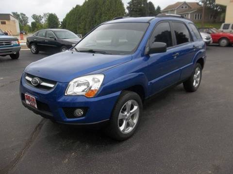 2009 Kia Sportage for sale at PEKARSKE AUTOMOTIVE INC in Two Rivers WI