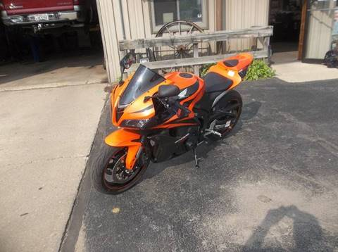 2008 Honda 600 CBR racing for sale at PEKARSKE AUTOMOTIVE INC in Two Rivers WI